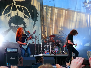 Voivod (band) - Voivod on Masters of Rock 2009 in Vizovice