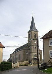 The church in Vahl-Ebersing