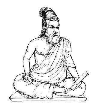 Thiruvalluvar - An ancient image of Valluvar
