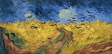 Van Gogh, Wheatfield with crows.jpg