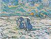 Van Gogh - Zwei grabende Bäuerinnen auf schneebedecktem Feld.jpeg