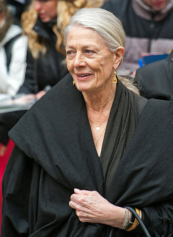 English actress Vanessa Redgrave at the press ...