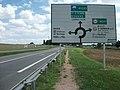 Varennes-sur-Allier, avant giratoire Vichy 2015-08-28.JPG