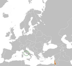 Vatican City Israel Locator.png
