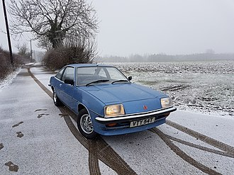 Vauxhall Cavalier - A  1978 MK1 Vauxhall Cavalier Coupe fitted with the larger 2.0 litre engine