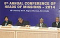 Vayalar Ravi addressing at the 8th Annual Conference of the Heads of Missions of Emigration Check Required (ECR) Countries, in New Delhi. The Minister of State for External Affairs.jpg