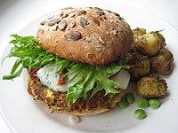 Veggie burger miikkahoo flickr creative commons.jpg