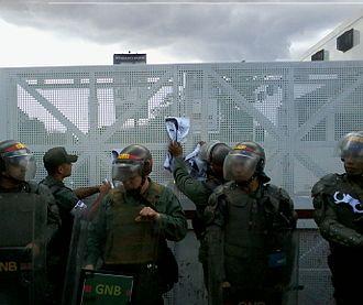 Venezuelan National Guard - During 2014 protests
