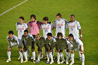 Ventforet Kofu - Ventforet Kofu team in November 2010