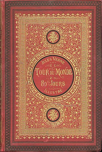 Around the World in Eighty Days - Image: Verne Tour du Monde