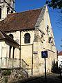 Vernouillet (78), église Saint-Étienne, chœur, vue depuis le sud-est 1.jpg