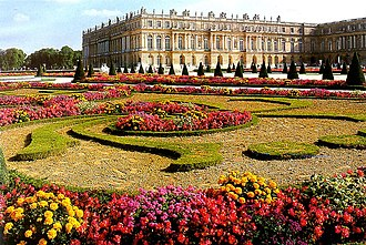 French formal garden - Image: Versailles Garden