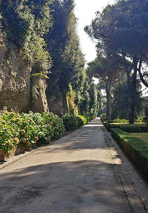 Villa of Domitian - Avenue of the Nymphaea
