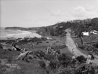 Coledale, New South Wales - A view at Coledale, circa 1900.