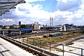 View from West India Key DLR station 1994.jpg