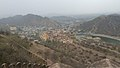 View from jaigarh fort to amber side.jpg