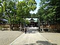 View of Haiden of Oasahiko Shrine 2.JPG