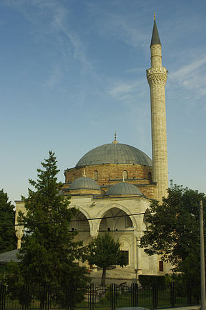 Religion in the Republic of Macedonia - Mustafa Pasha Mosque in Skopje.