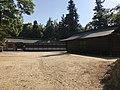 View of Warehouse of Mikoshi in Oyamazumi Shrine.jpg