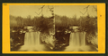 View of a waterfall, from Robert N. Dennis collection of stereoscopic views.png