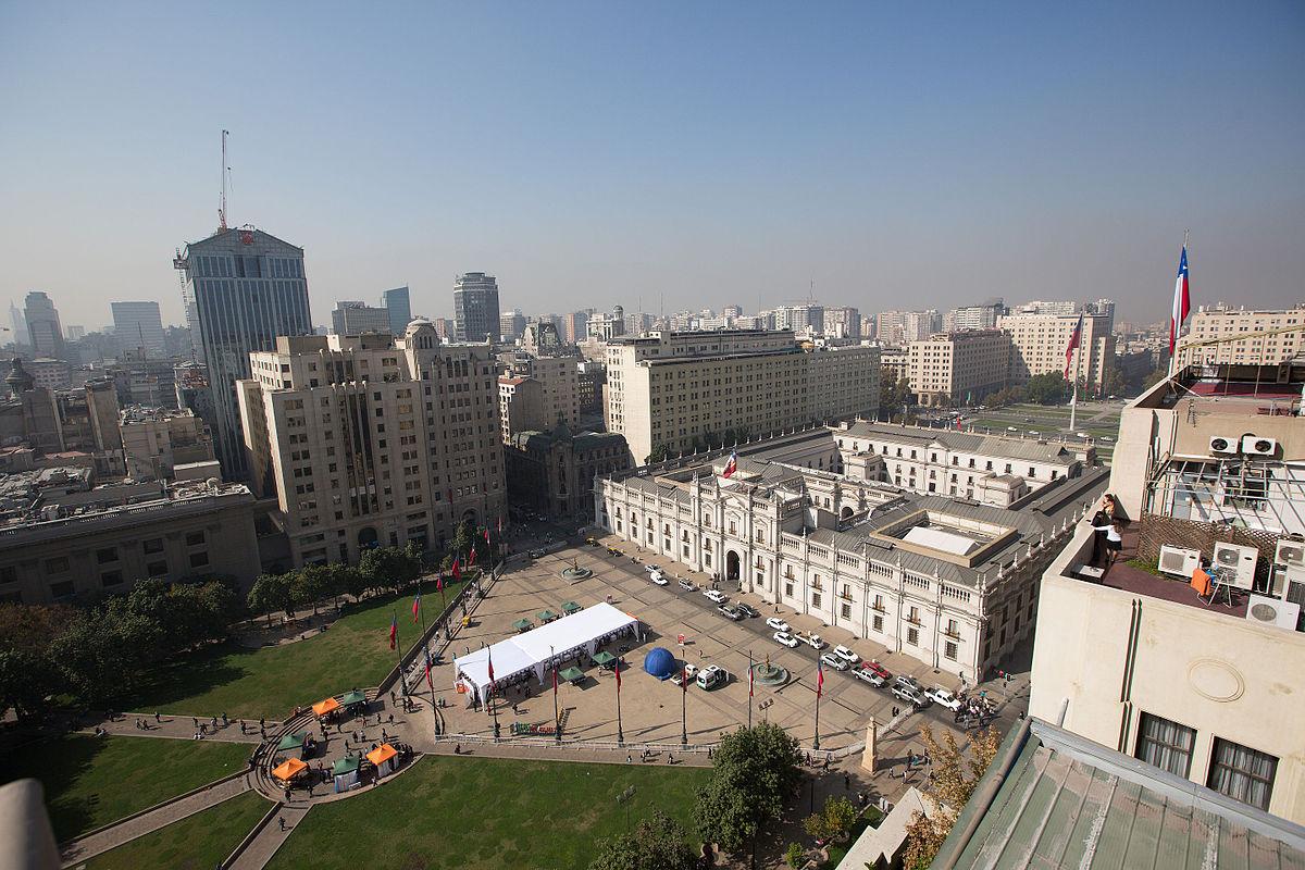 Plaza de la constituci n chile wikipedia la for Papeles murales en santiago de chile