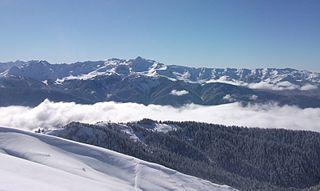 Arabika Massif mountain