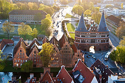 View over Lübeck April 2009.jpg