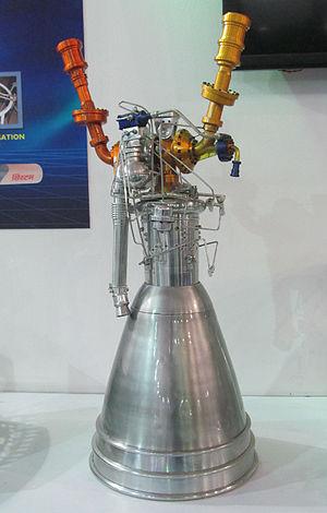 Vikas (rocket engine) - Model of the Vikas engine
