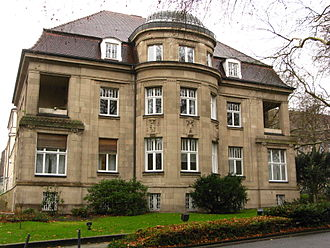 Heinrich Koppers - Villa Koppers: former residence of the  Heinrich Koppers family; picture of 2009