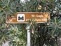 Villa Quaglio, segnale turistico informativo (Crespino).JPG