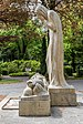 Villach Sankt Martin Waldfriedhof Kriegerdenkmal von Josef Dobner 10052017 8389.jpg