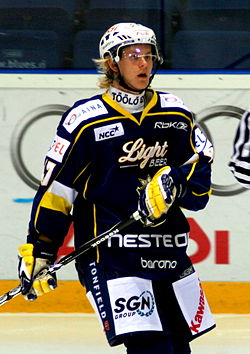 Ville Lajunen of the Espoo Blues - 20090820.jpg