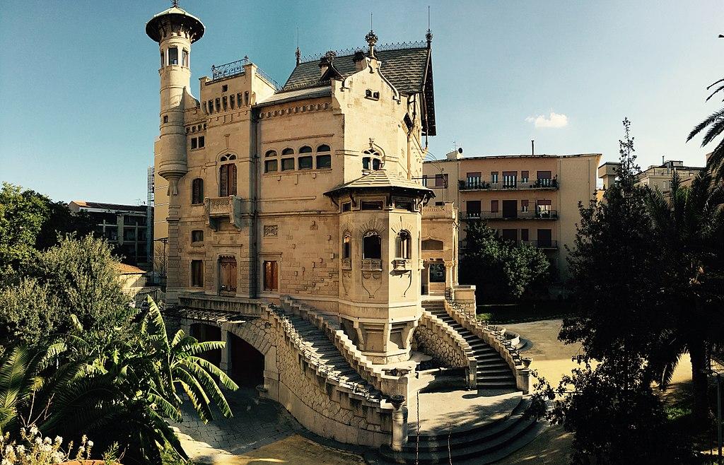Art Nouveau à Palerme : Villino Florio par l'architecte Ernesto Basile - Photo de GiusseppeT