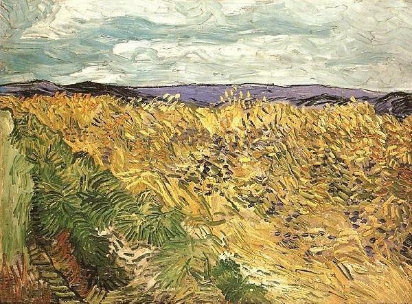 Vincent van Gogh - Wheat Field with Cornflowers