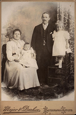 Vintage family from england