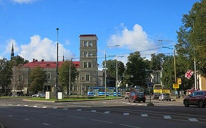 Kuidas ühistranspordiga sihtpunkti Viru Väljak jõuda - kohast