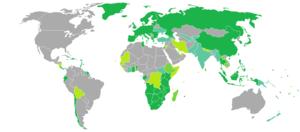 Mauritian passport - Visa requirements for Mauritian citizens