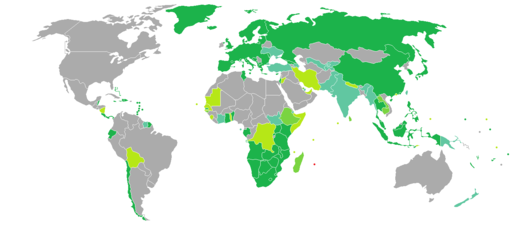 Visa requirements for Mauritian citizens