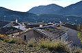 Vista de Benimassot des del camí del calvari.JPG