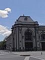 Vista en diagonal de la Estación del Ferrocarril Medellín -Cisneros. Medellín. Colombia.jpg