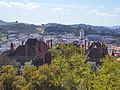 Vista sobre a cobertura do Paço dos Duques de Bragança.jpg