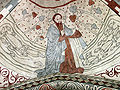 Vittskövle-fresco-Gud skaber havets fisk.jpg