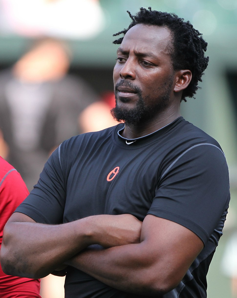 Vladimir Guerrero and Bobby Abreu on July 23, 2011 Cropped