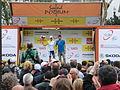 Volta Catalunya 2013. Christian Meier al podi (esprints Tour de França).JPG
