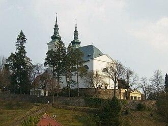 Vranov (Brno-Country District) - Image: Vranov U Brna kostel