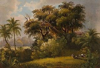 Vue prise sur le Chemin de l´Areal, à Bahia