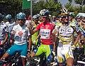 Vuelta a España 2010 - Mosquera, Nibali, Velits.jpg