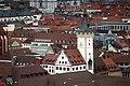 Würzburg, Blick von der Festung Marienberg zum Rathaus.jpg