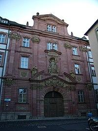 Würzburg - Domerschulstraße 18 Ehem Jesuitenkolleg.jpg