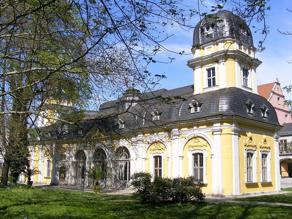 Würzburg - Gartenpavillon des Juliusspitals, Südwestfassade